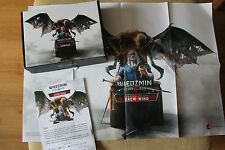 WITCHER 3 - WIEDŹMIN  COLLECTORS BOX + HUGE POSTER BLOOD AND WINE  // 82cmx59cm