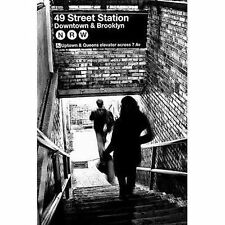 SUBWAY SHADOWS - NEW YORK CITY POSTER 24x36 - 49TH STREET STATION ART 10245