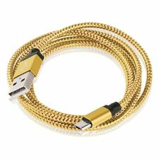 Aluminum Braided Micro USB Sync Charger Cable Charging Cord for Various Phones