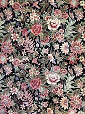 Black Bessarabian - English Garden Design - Noo Noo Pakistani Carpet 10.2 x 14.4