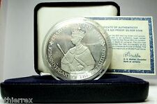 JAMAICA (25 $ UNC./Silver Proof) Anniversary 1979