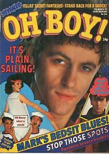 Oh Boy! Magazine 13 March 1982 Issue 266      Thin Lizzy     Tim of The Polecats