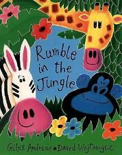 Rumble in the Jungle by Giles Andreae and Jan Fearnley (2001, Picture Book,...