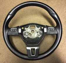 VW GOLF MK6 2009-2013 3 SPOKE LEATHER MULTIFUNCTION STEERING WHEEL 3C8959537D