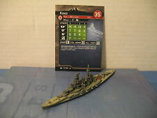 Axis and Allies War at Sea Base Set Kongo 57/64