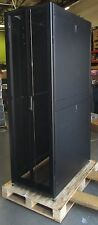 APC NetShelter SX 42U AR3100 Server Rack w/ Front and Rear Doors and Side Panels