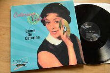 CATERINA VALENTE Come On Caterina Remix 12'' 45 LP ew 4509-914190-0