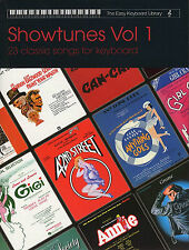 Showtunes Collection Easy Keyboard Library Music Book Show Tunes Songs West End