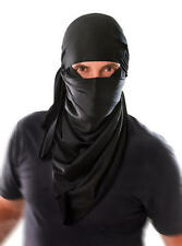 Black Ninja Hood Samurai Warrior Excecutioner Halloween Fancy Dress