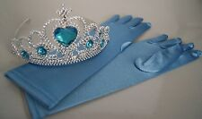 Crown Tiara and Gloves  Elsa Frozen Disney Inspired Princess