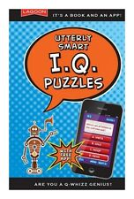 Lagoon Games Q Whizz Book Utterly Smart IQ Puzzle Test Quiz Fun Book & App Gift