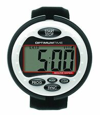 Optimum Time OS310 Big White Sailing Watch - FREE 1st Class Delivery