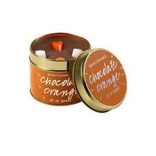 Bomba De Cosméticos De Lata Con Vela-Chocolate Naranja vela olfateada
