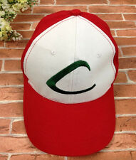 Anime POKEMON-Trainer ASH KETCHUM-Embroidered Hat Cosplay Cap Game Pokemon Go