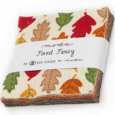 FOREST FANCY Charm Pack by Deb Strain for Moda Fabrics