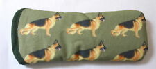 BN-GERMAN SHEPHERD DOGS ALL OVER- cotton GLASSES CASE ideal small gift