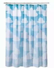 Circo Clouds Fabric Shower Curtain  Blue Ombre NWOT Kids Bathroom