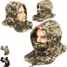 Face Warmer HOOD FDK CAMO Neck MASK BALACLAVA SKI Climing Bike Cap Hat