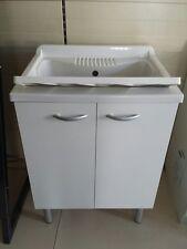 Mobile lavatoio lavapanni pilozza lavanderia interno o esterno 60x50 NEGRARI