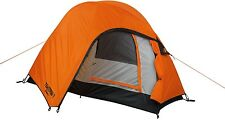 GigaTent Tekman 1-Person Backpacking Tent Orange Instant Hiking Camping Shelter