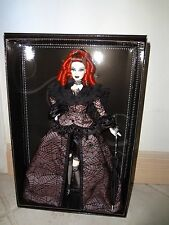 BARBIE CONVENTION 2013 LA REINE DE LA NUIT RED HAIR DOLL NRFB PLATINUM LABEL