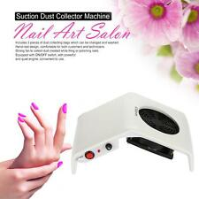 30W Nail Art Salon Suction Dust Collector Machine Vacuum Cleaner Nail TOOL H1J8