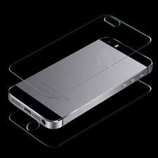 Trendy TEMPERED GLASS Film Screen Protector APPLE IPHONE 4 4S  Front + Rear Back