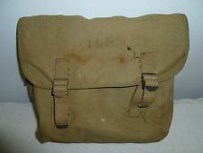 VINTAGE US ARMY WWII FIELD PACK WORLD WAR II CANVAS MILITARY BACKPACK BAG