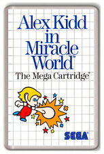 ALEX KIDD IN MIRACLE WORLD MASTER SYSTEM FRIDGE MAGNET IMAN NEVERA