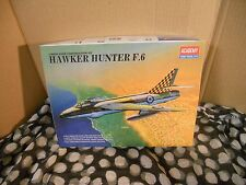 Hawker Hunter  F.6  1/48th scale model kit from Academy