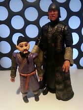 """DOCTOR WHO MAGNUS GREEL & MR SIN THE TALONS OF WENG CHIANG 5"""" CLASSIC FIGURES"""
