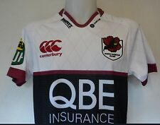 NORTH HARBOUR S/S RUGBY JERSEY BY CANTERBURY SIZE ADULTS LARGE