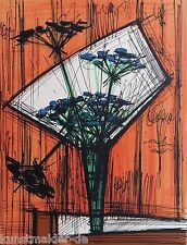Bernard BUFFET 28-99 Original Lithographie sur Arches Papier fait main Paris 72