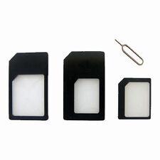 Sim Adaptador Convertidor & Sim Pin Ejector convertir De Nano A Micro Y Standard