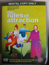 James Van Der Beek Jessica Biel RULES DE ATTRACTION Bret Easton Ellis Drame DVD