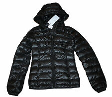 AUTH $325 Lacoste Women Down Jacket Black BF6989 34/2