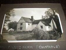 Old photograph Willy Lot's farm Flatford c1930s