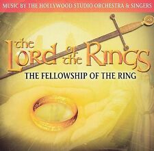: Lord of the Rings: The Fellowship of the Ring Soundtrack Audio CD