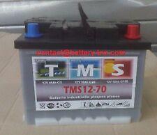 Batterie plomb TMS pour  Paneaux Solaire 12v 70ah décharge lente 1300 Cycle