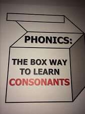Phonics Boxes - Alphabet Tubs - Classroom Educational Miniatures - Consonant Set