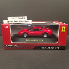 Hot Wheels Ferrari 328 GTB 1:43 Scale Red