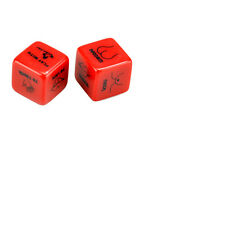 1 Pair Adult Love Dice Sexy Romance Erotic Game Bachelor Party Novelty Gift Toy