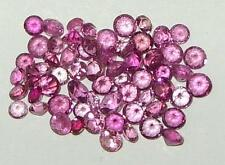 4ct Lot 63 Stones Brazil Pink & Rubellite Tourmaline Round 2mm - 3.2mm SPECIAL