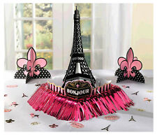 A Day in Paris Table Decorating Kit, Wedding & Birthday Party Supplies Favors