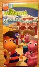 SEALED!! The Backyardigans - Polka Palace Party (VHS, 2006) Nick Jr.