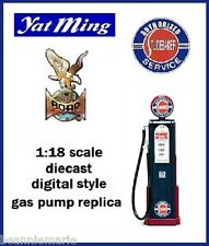 Yatming Digital 1940 's - 1950 's Style Gas Pump ~ Studebaker  ~  1:18 scale