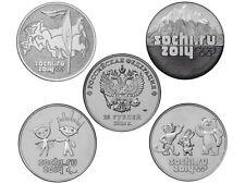 Russia 4 x 25 rublos 2014 - Sochi 2014 Rusia - Russland - Serie 4 x 25 rubles