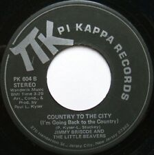 PSYCH FUNK 45 JIMMY BRISCOE AND THE LITTLE BEAVERS ON PI KAPPA HEAR -  Country..