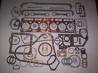 Fordson Major E27N Perkins P6 Diesel 6 Cyl. Complete Engine Gasket Set - NEW