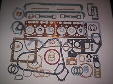 Fordson Major E27N Perkins P6 Diesel 6 Cyl. Complete Engine Gasket Set - NEW